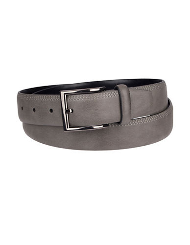 1670 Tri-Stitched Harness Belt-GREY-36