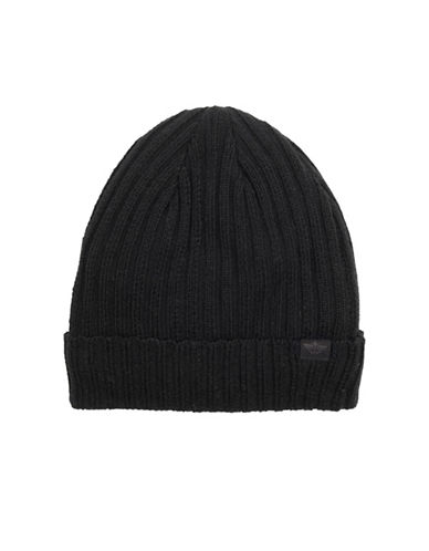 Dockers Rib-Knit Tuque-BLACK-One Size