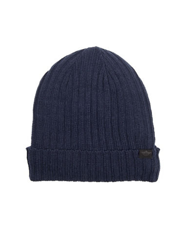 Dockers Rib-Knit Tuque-NAVY-One Size