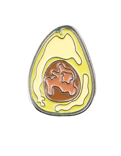 Pins Avocado Pin-GREEN-One Size