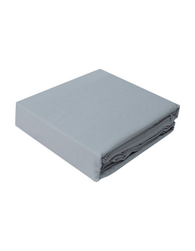 Highland Feather Bamboo Cotton Sheet Set-GREY-Twin