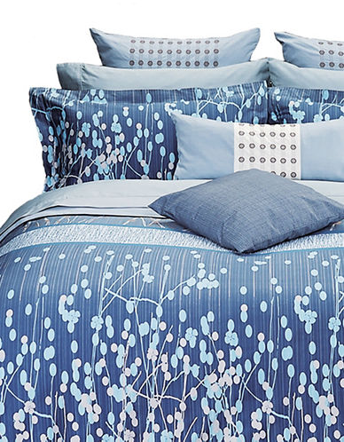 Highland Feather Three-Piece Blue Night Duvet Cover Set-BLUE-Double 88588017_BLUE_Double