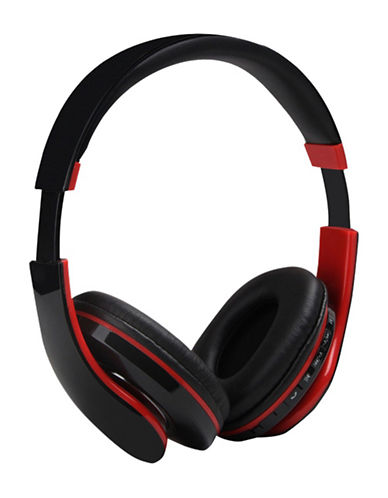 Escape Over Ear Headphones-BLACK/RED-One Size