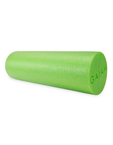 Gaiam Restore 18 Foam Roller with DVD-GREEN-One Size