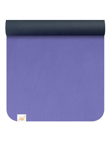 Gaiam Suddha Eco Yoga Mat - 4mm-PURPLE-One Size