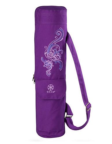 Gaiam Yoga Cargo Mat Bag-PURPLE-One Size