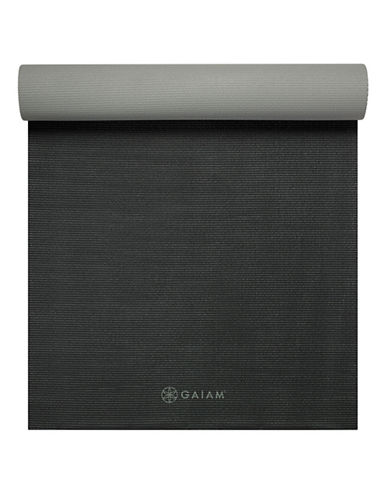 Gaiam Athletic Dynamat - 5mm-BLACK-One Size