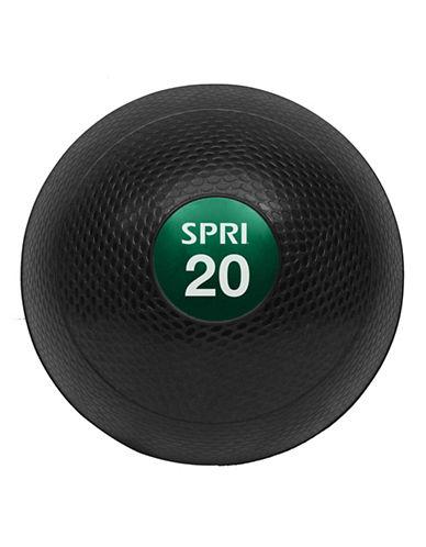 Gaiam Spri Cross Train 20lb Slam Ball-BLACK-One Size