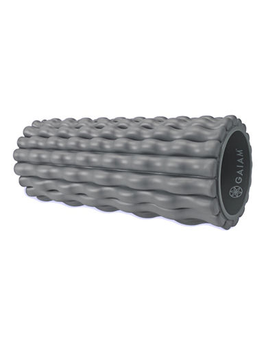 Gaiam Restore Deep Tissue Foam Roller-GREY-One Size