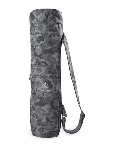 Gaiam Cargo Yoga Mat Bag-SLATE-One Size
