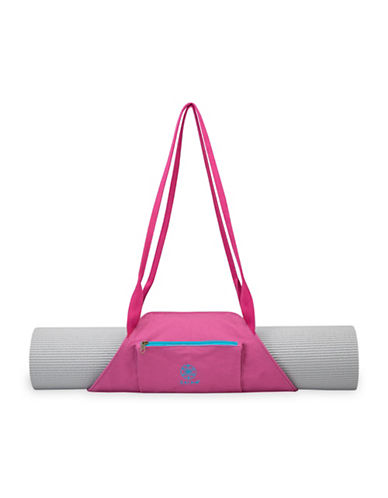 Gaiam On-The-Go Mat Carrier-FUCHSIA-One Size