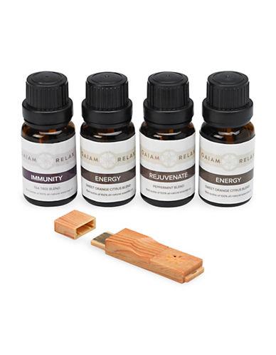 Gaiam Aromatherapy Kit-GREY-One Size