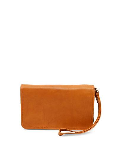 Ashlin Leather Wristlet Wallet-BEIGE-One Size