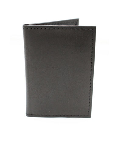 Ashlin Belford Georgio Napa Leather Card Holder-BLACK-One Size