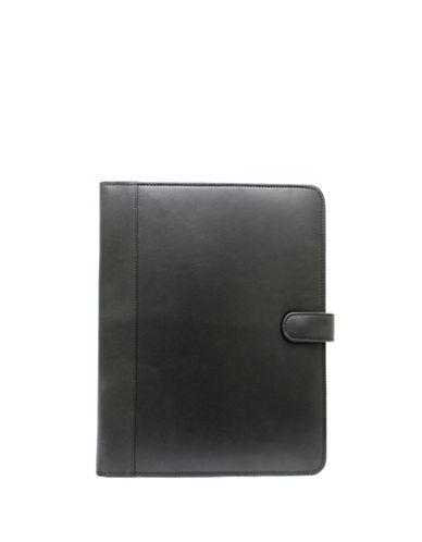 Ashlin Leather Padfolios-BLACK-One Size