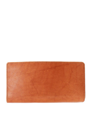 Ashlin Aidan Tuscany Leather Slim Wallet-BROWN-One Size