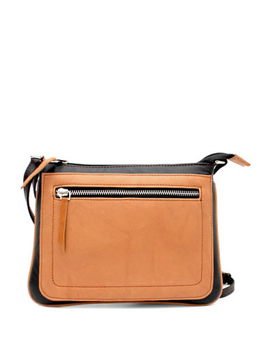 Ashlin Tuscany Leather Crossbody Bag-TAN-One Size