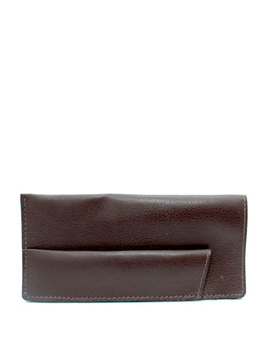 Ashlin Sun and Eyeglass Leather Case-BROWN-One Size