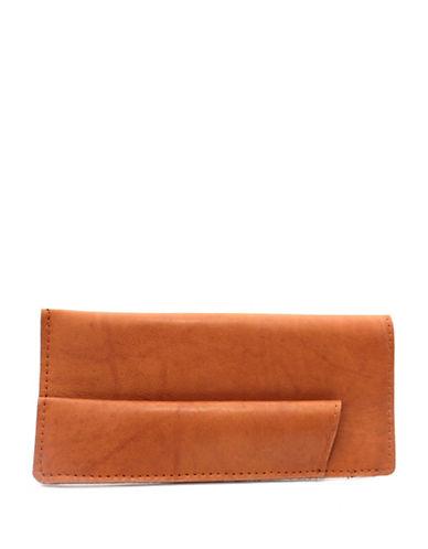 Ashlin Sun and Eyeglass Leather Case-TAN-One Size