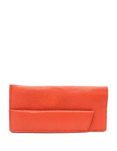 Ashlin Sun and Eyeglass Leather Case-ORANGE-One Size