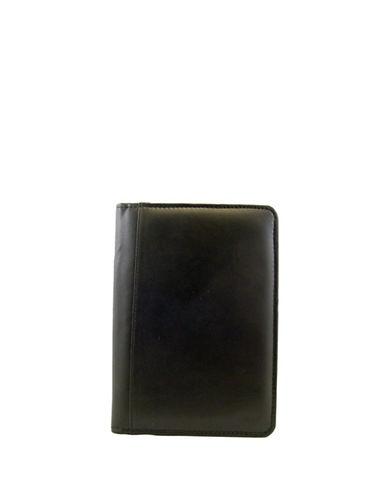 Ashlin Estevo Lambskin Napa Leather Portfolio-BLACK-One Size