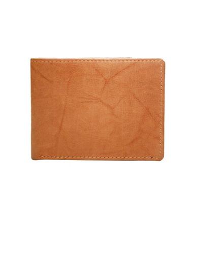 Ashlin Slim Bi-Fold Wallet-TAN-One Size