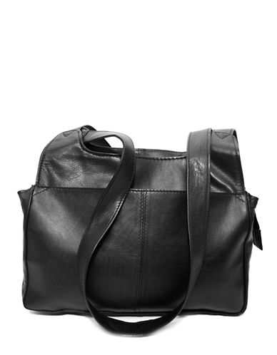 Ashlin Eliza Tuscany Leather Satchel-BLACK-One Size