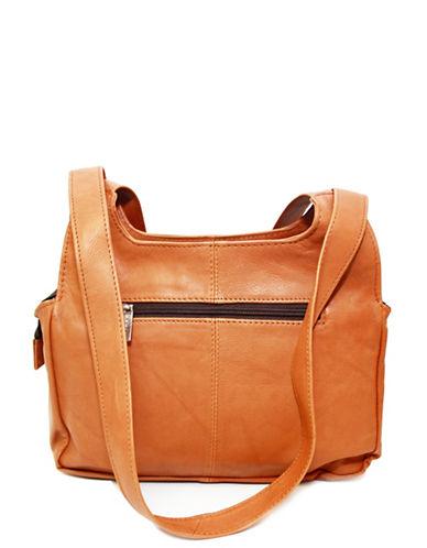 Ashlin Eliza Tuscany Leather Satchel-LIGHT BROWN-One Size