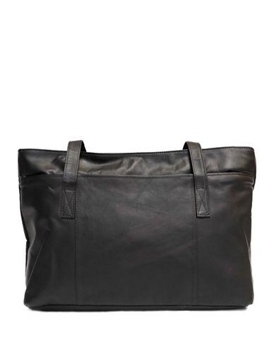 Ashlin Melia Tuscany Leather Tote-BLACK-One Size