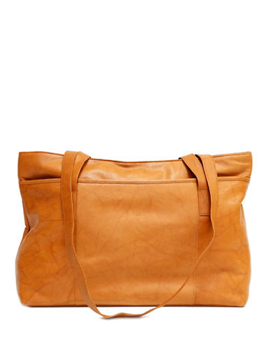 Ashlin Melia Tuscany Leather Tote-MEDIUM BROWN-One Size