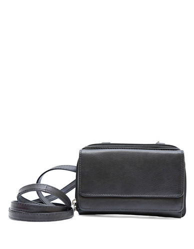 Ashlin Isabella Leather Wallet-BLACK-One Size