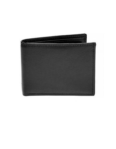 Ashlin Bi-Fold Flip-Up Wallet-BLACK-One Size