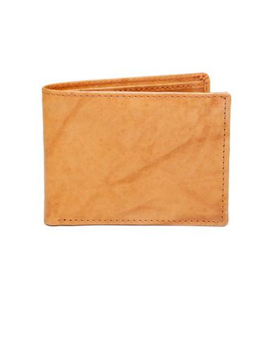 Ashlin Bi-Fold Flip-Up Wallet-TAN-One Size