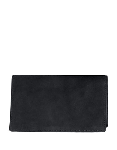 Ashlin Tuscany Leather Pocket Wallet-BLACK-One Size