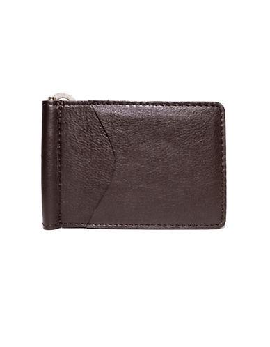 Ashlin Money Clip Wallet-BROWN-One Size