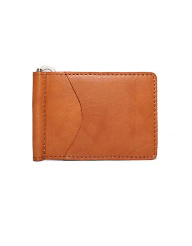 Ashlin Money Clip Wallet-TAN-One Size