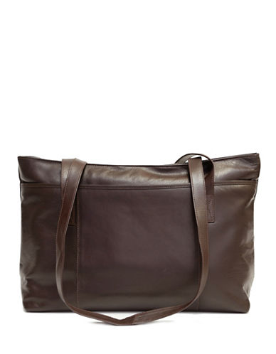 Ashlin Melia Tuscany Leather Tote-BROWN-One Size