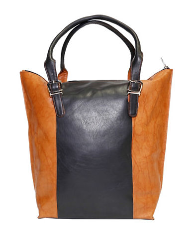 Ashlin Candelora Tuscany Leather Tote-BLACK-One Size 88530521_BLACK_One Size