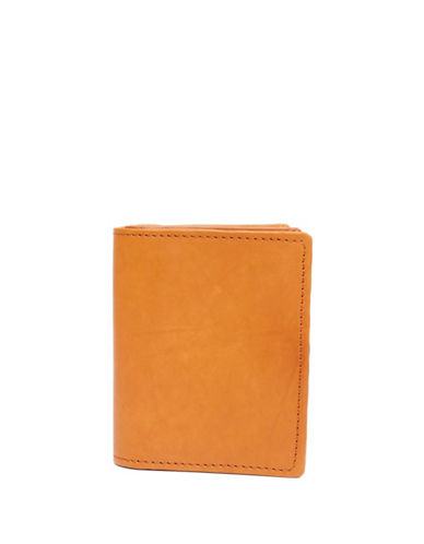Ashlin Abriella Tuscany Leather Bi-Fold Credit Card Case-LIGHT BROWN-One Size