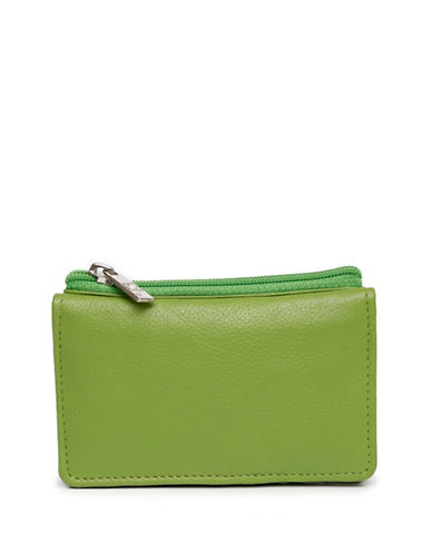 Ashlin Hillebrand Mini-Wallet-GREEN-One Size
