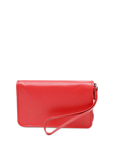 Ashlin Smartphone Wallet-RED-One Size