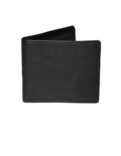 Ashlin RFID Bi-Fold Wallet-BLACK-One Size