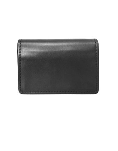 Ashlin RFID Blocking Business Card Holder-BLACK-One Size