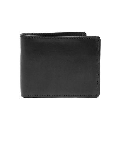 Ashlin RFID Blocking Bi-Fold Wallet-BLACK-One Size