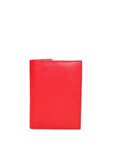 Ashlin RFID Passport Wallet-RED-One Size