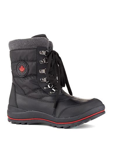 Cougar Chamonix Waterproof Nylon Ankle Boots-BLACK-7