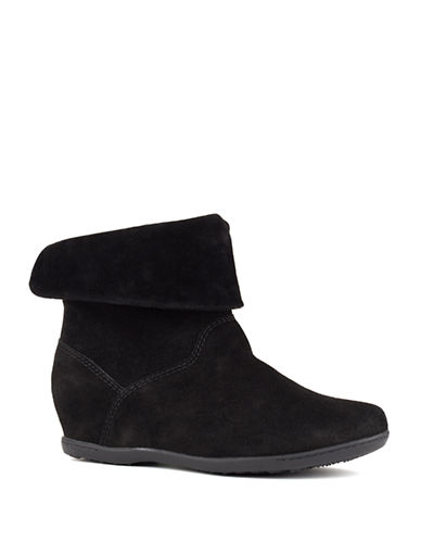 Cougar Fifi Waterproof Suede Ankle Boots-BLACK-9