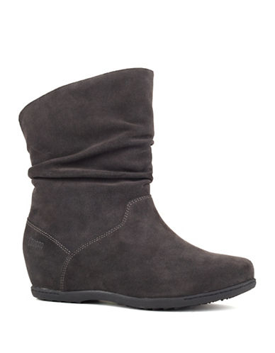 Cougar Fifi Suede Booties-SMOKE-6