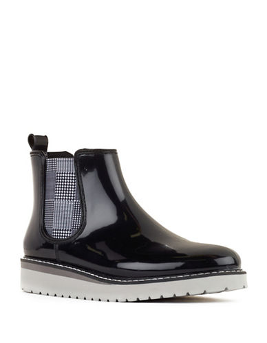 Cougar Kensington Rain Boots-BLACK/WHITE-6