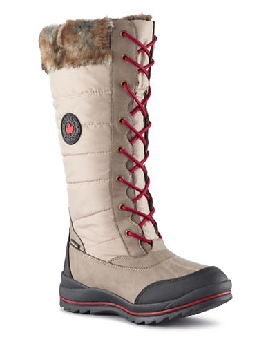 Cougar Faux-Fur Trimmed Winter Boots-OATMEAL-6